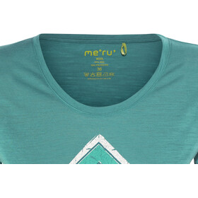 Meru Enköping Wool SS Shirt Women Turkish Tile